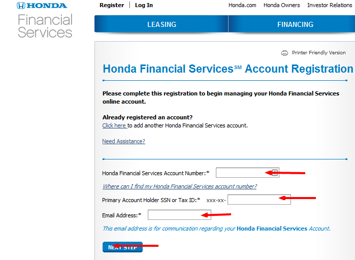 honda financial services bill payment options bill pay   guide