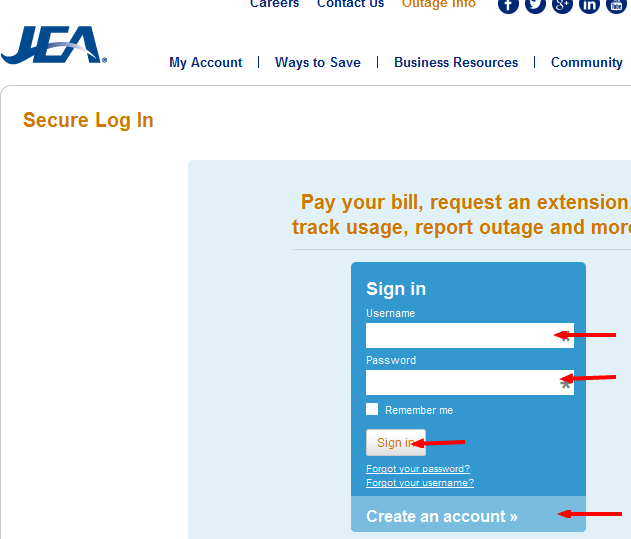 JEA Bill Pay